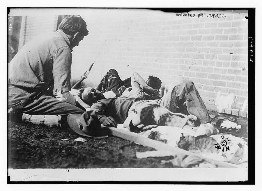 Wounded At Juarez