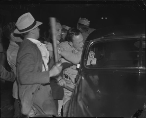 Zoot Suit Riot Beating
