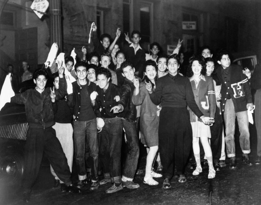 Zoot Suit Riot Teens