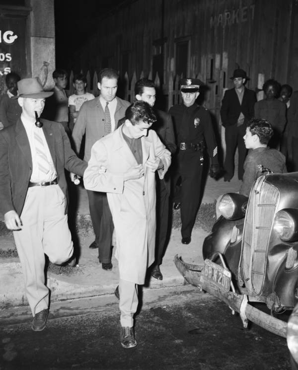 Zoot Suit Riots Arrest