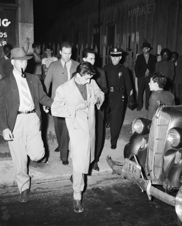 Zoot Suit Riots Arrest