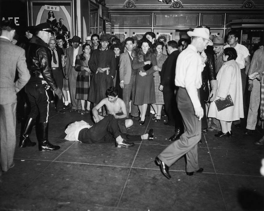 Zoot Suit Riots Beatings