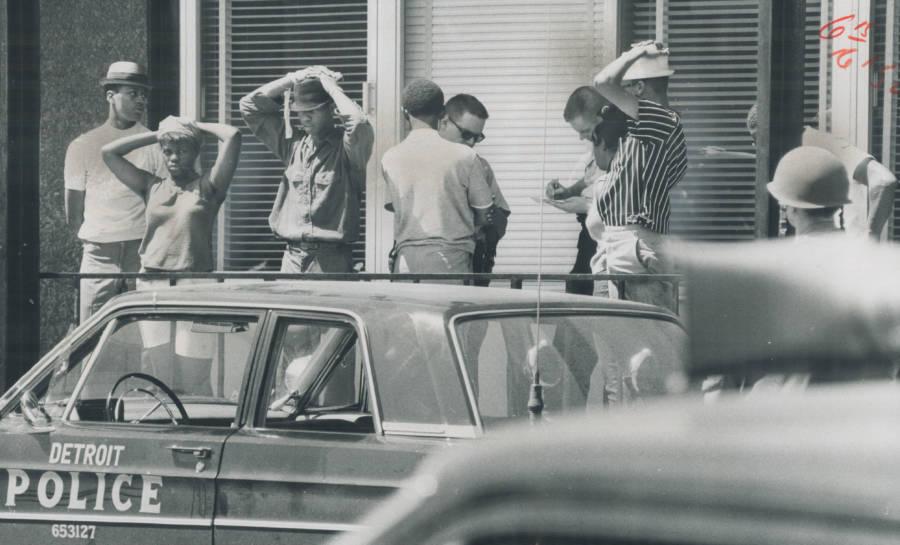 1967 Detroit Riots Arrest