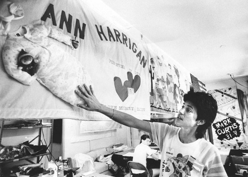 Aids Quilt Ann Harrigan
