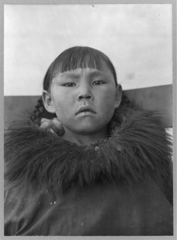 Alaskan Eskimo Girl