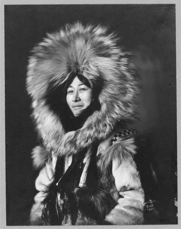 Alaskan Eskimo Woman