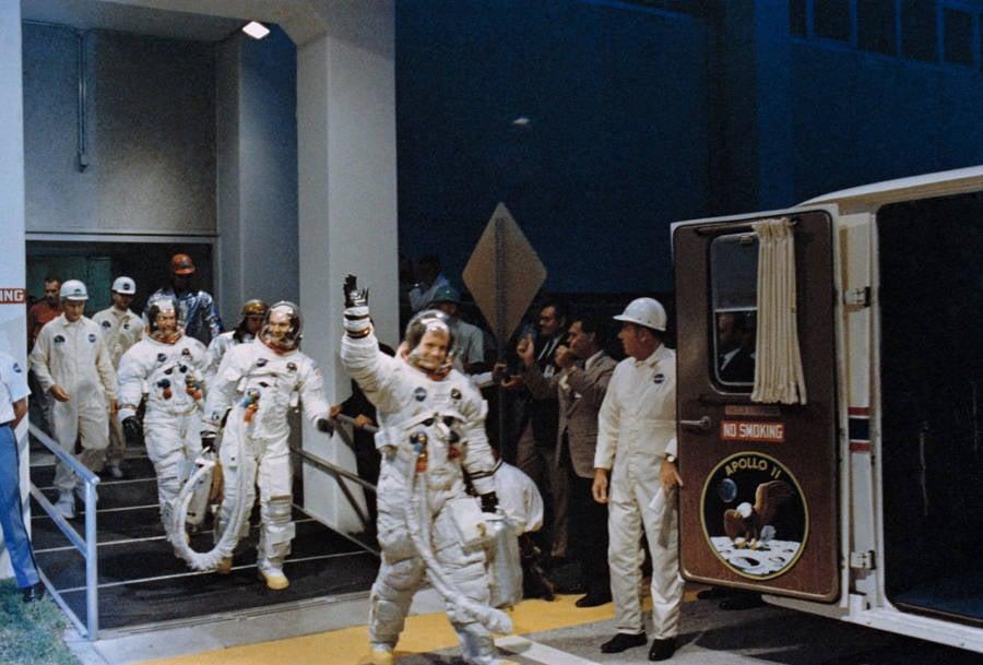 Apollo 11 Entering Van