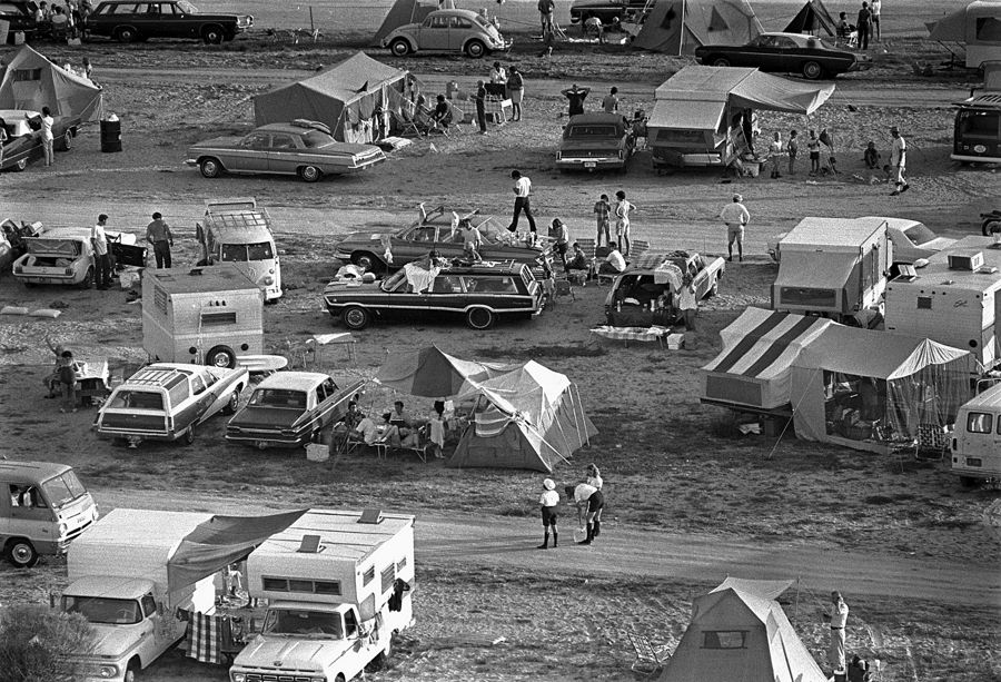 Apollo 11 Liftoff Spectators