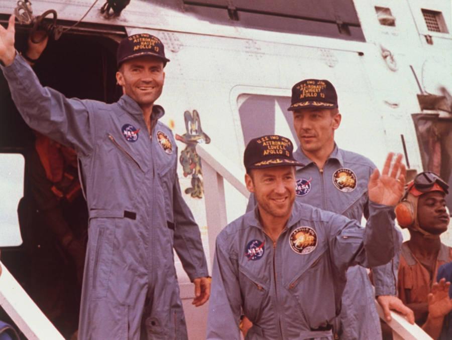 Apollo 13 Return