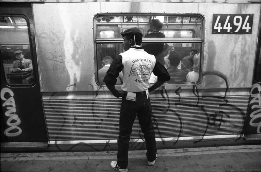 Back Subway Platform