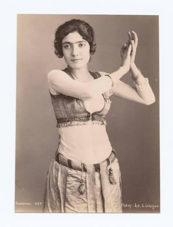 Bedouin Woman Dancer