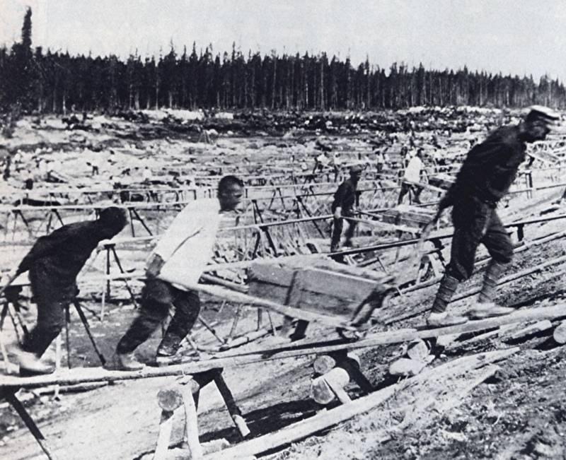Belomor Kanal Gulag Prisoners