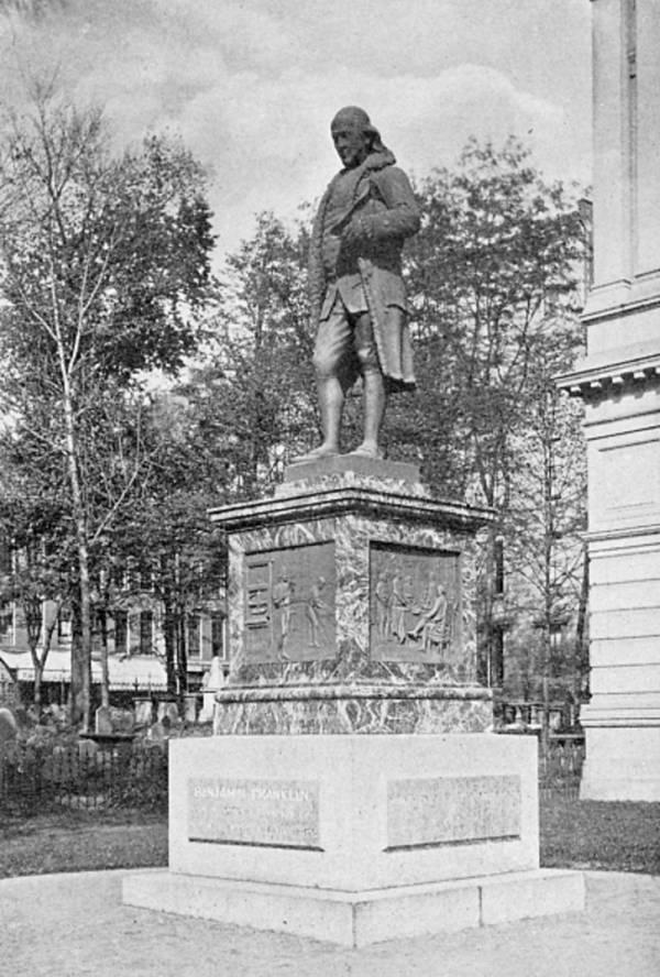 Ben Franklin Boston Statue