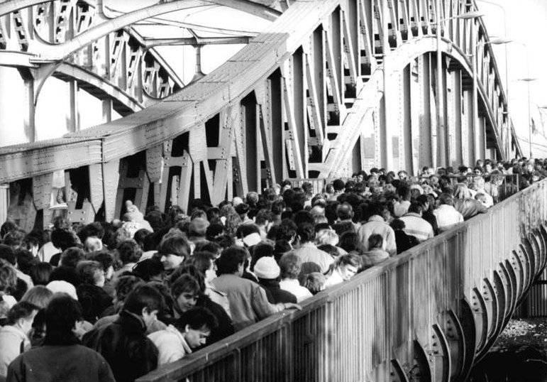 Berlin Wall Border Crossing