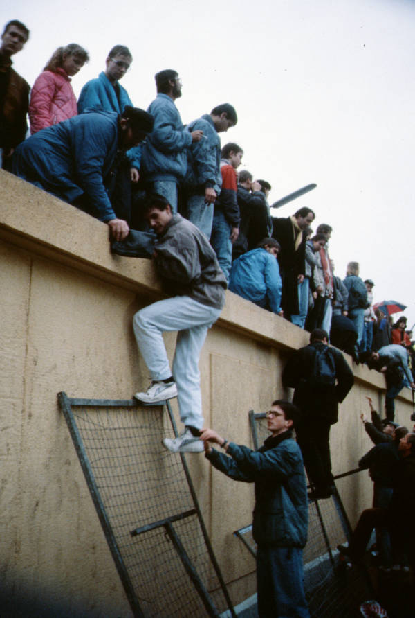 Berlin Wall Climbing