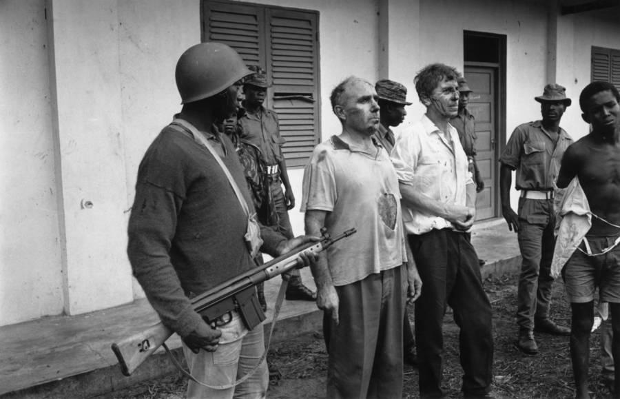 Biafra War Hostages