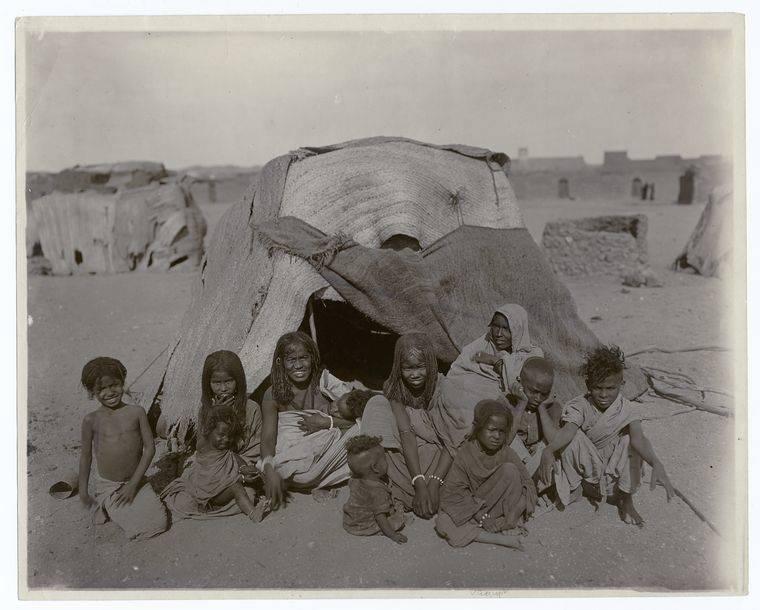 Bisharin And Tent Egypt