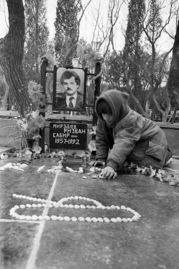 Black January Grave
