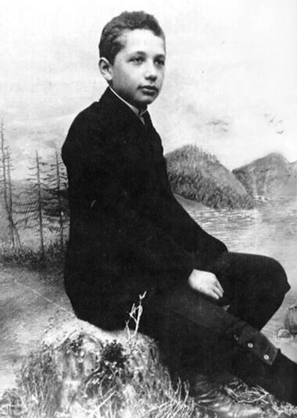 Boy Einstein