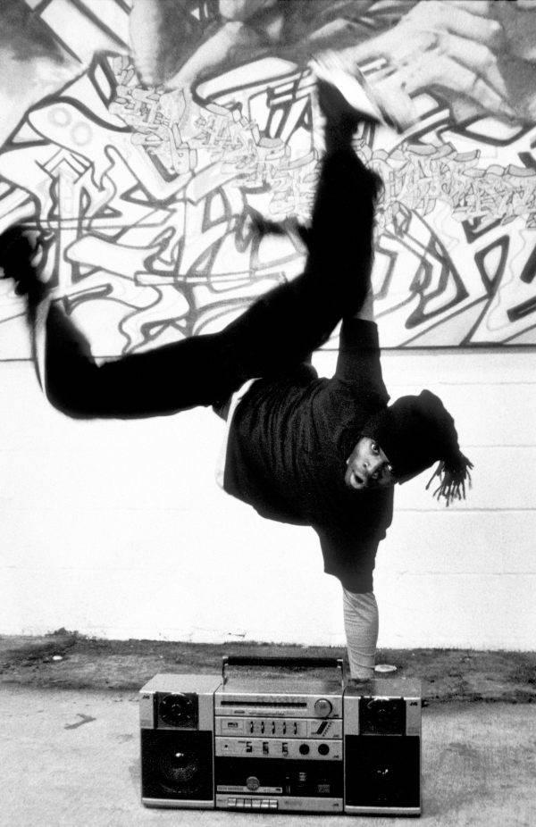 Breakdancer And Ghetto Blaster