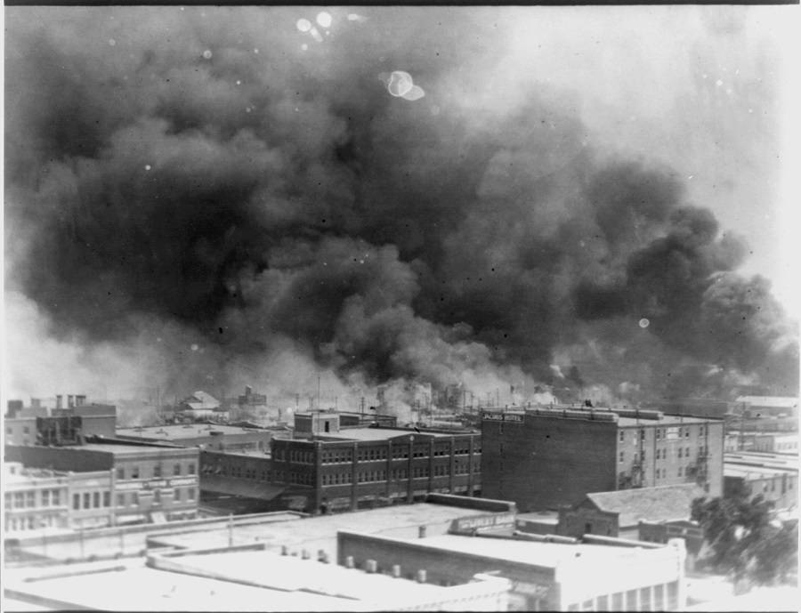 Burning Black Wallstreet