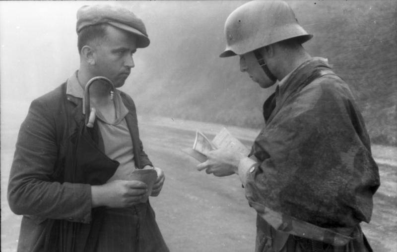Checking A Civilians Papers