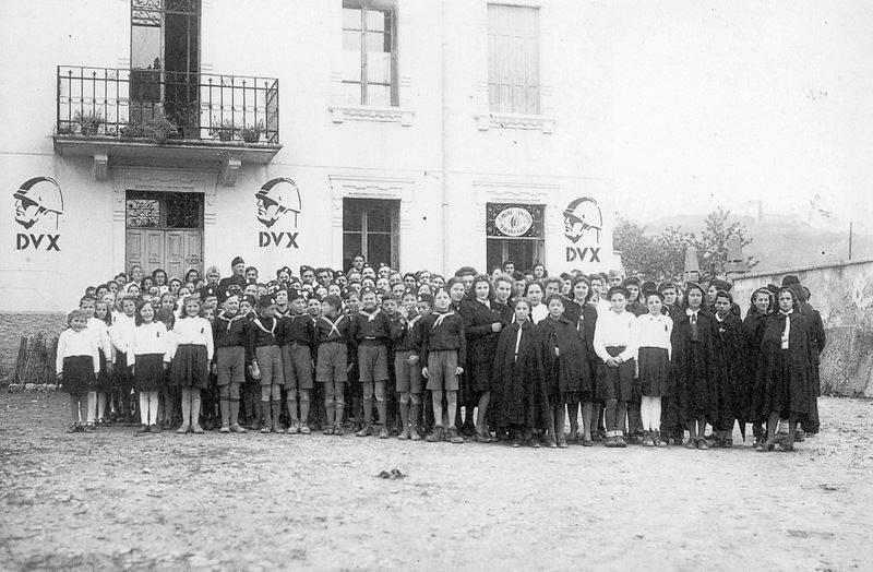 Children In Fascist Italy