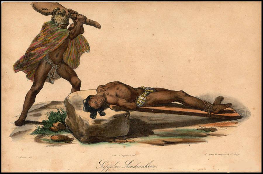 Hawaiian Human Sacrifice