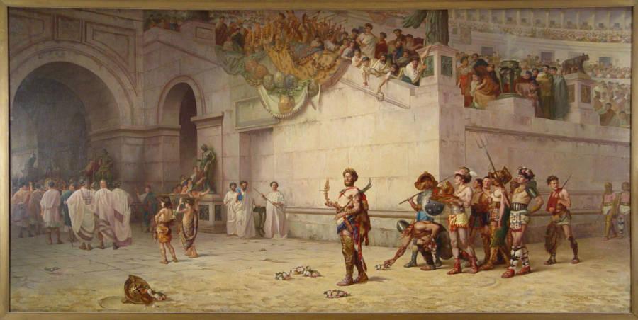 Commodus Insane Ruler