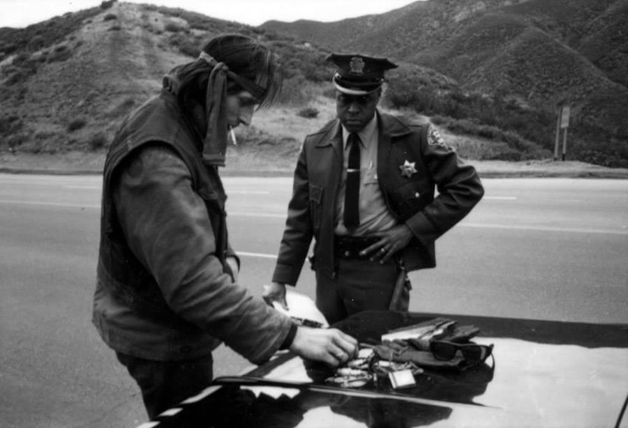 Cop Biker