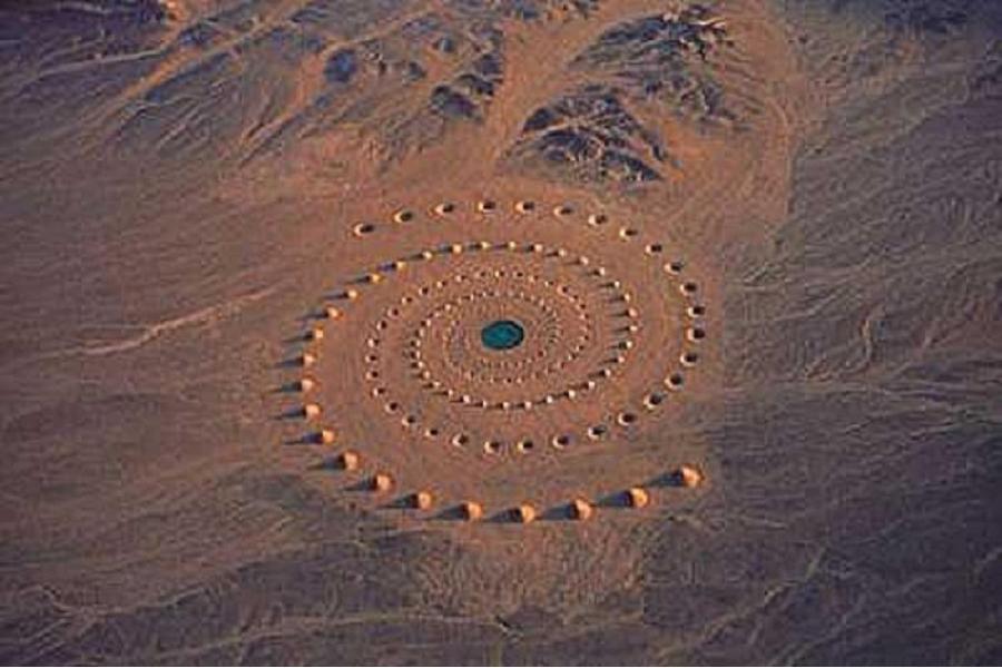 Crop Circles Desert Circle