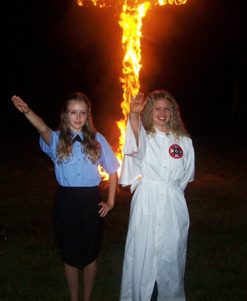 Cross Burning Salute