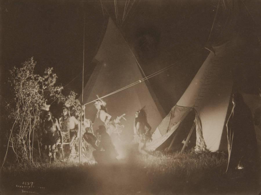 Crow Tribe Fire