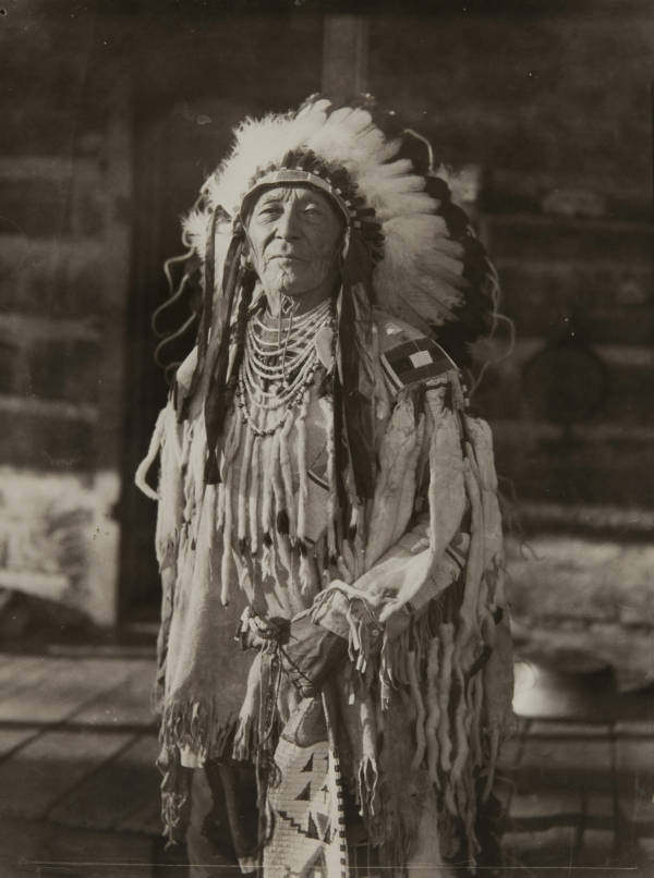 Crow Tribe Member
