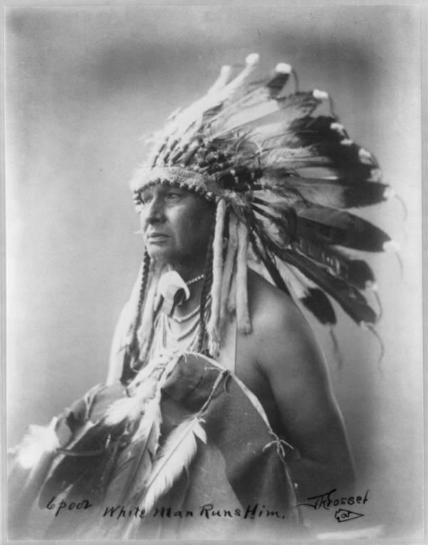 Crow Tribe Portrait Man