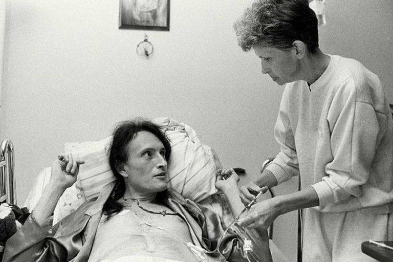 David Kirby With Mother