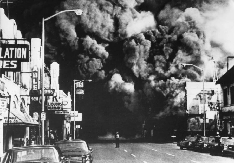 Detroit 1967 Smoke