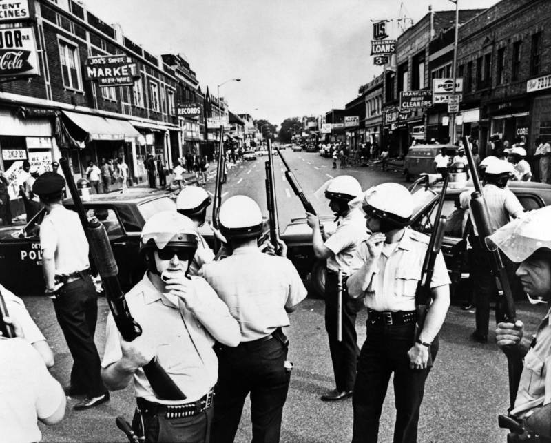 Detroit Police Shotguns