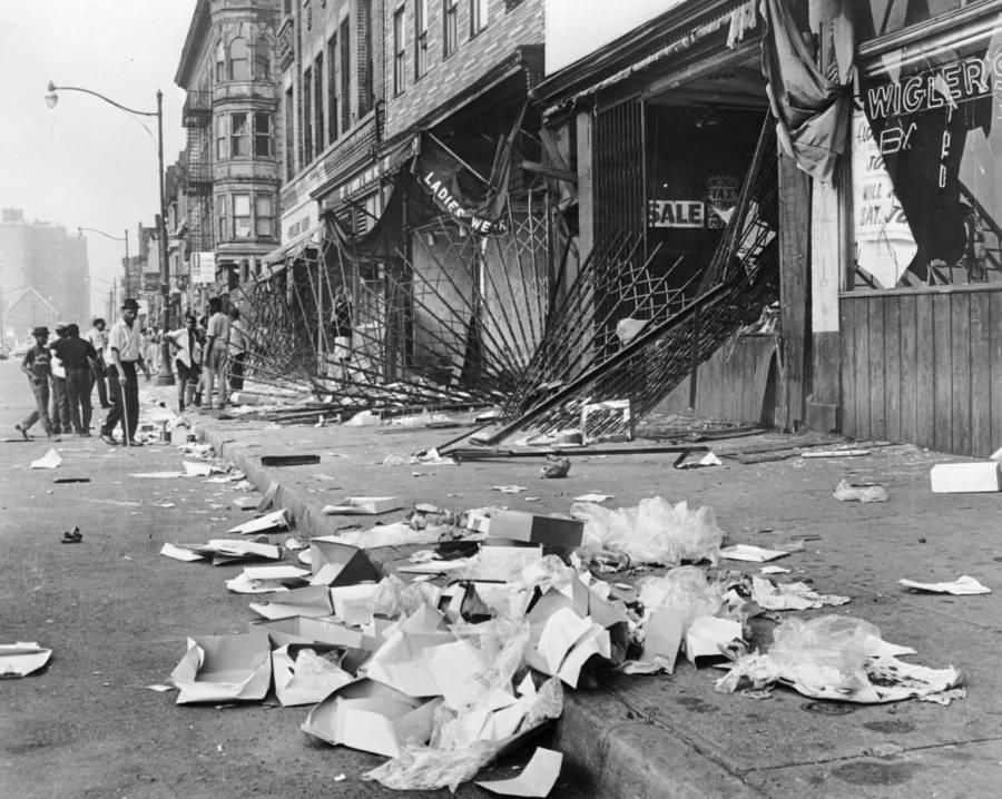 Detroit Riot Damage