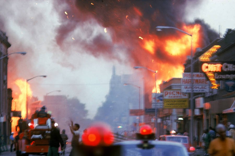 Detroit Riot Fire