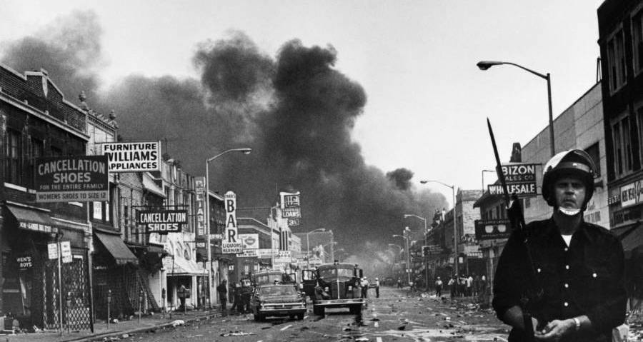 a history of the newark riots of 1967