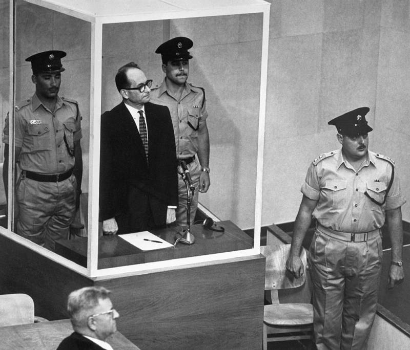 Eichmann Trial Exhibit