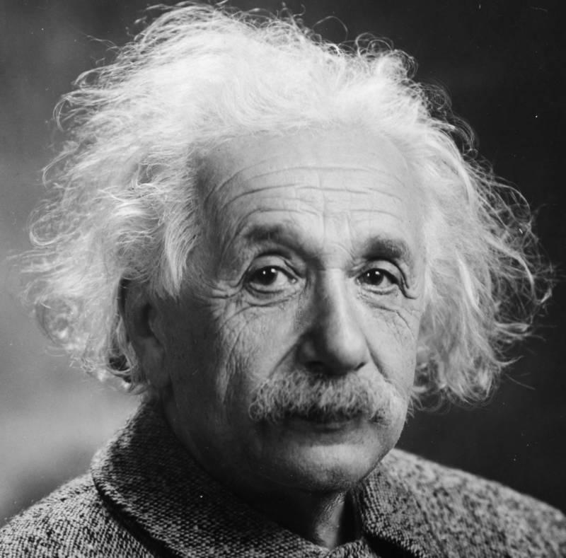 Einstein Face Portrait