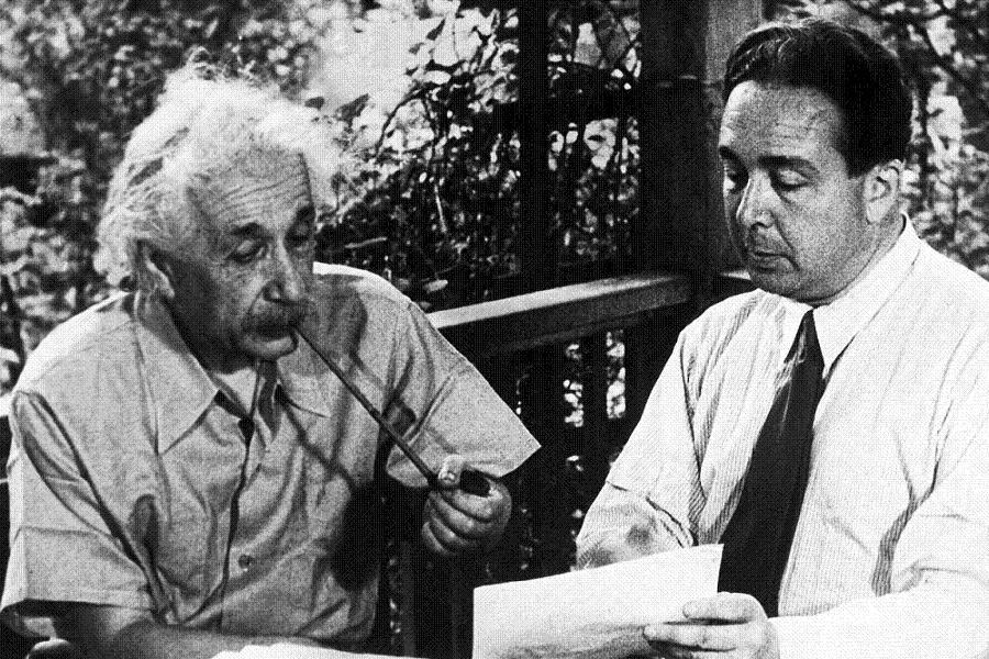 Einstein Picture With Szilard