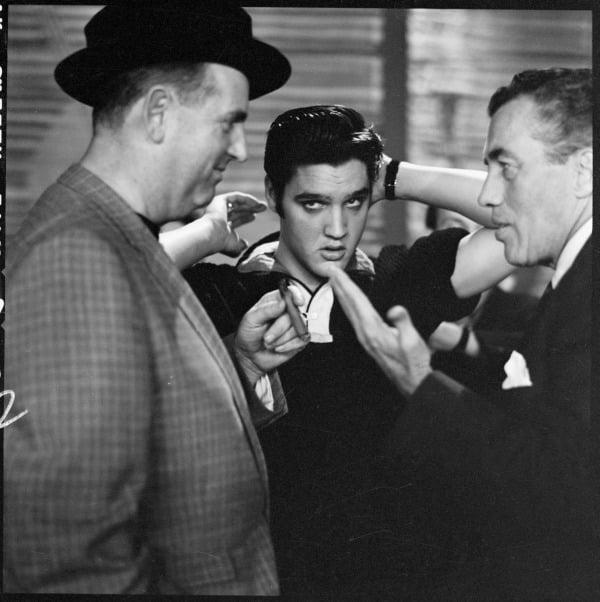 Elvis Fixing Hair