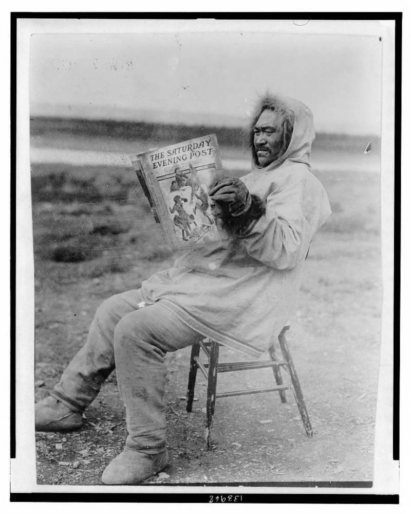 Eskimo Reading Post