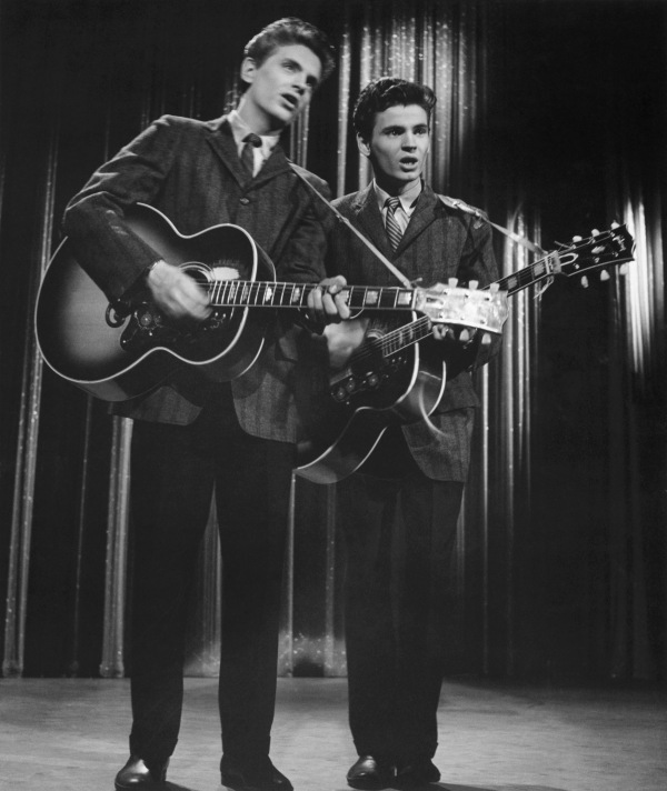 Everly Brothers Performing