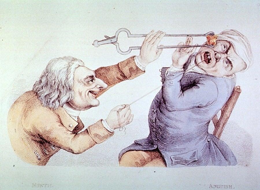 Evil Dentist Pulls Teeth