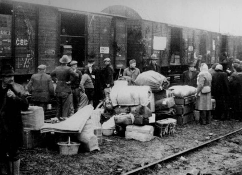 Families Deported To Siberia