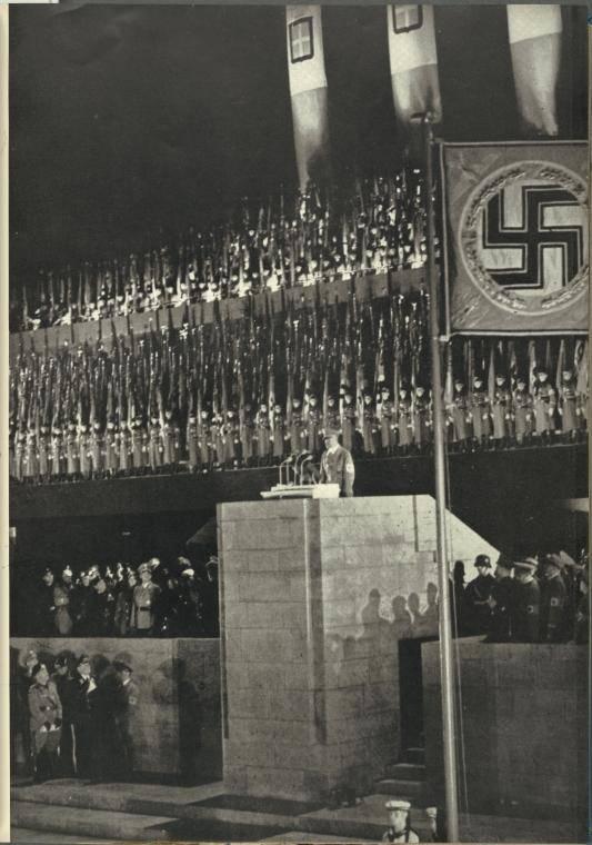 Fascist Italy Rally